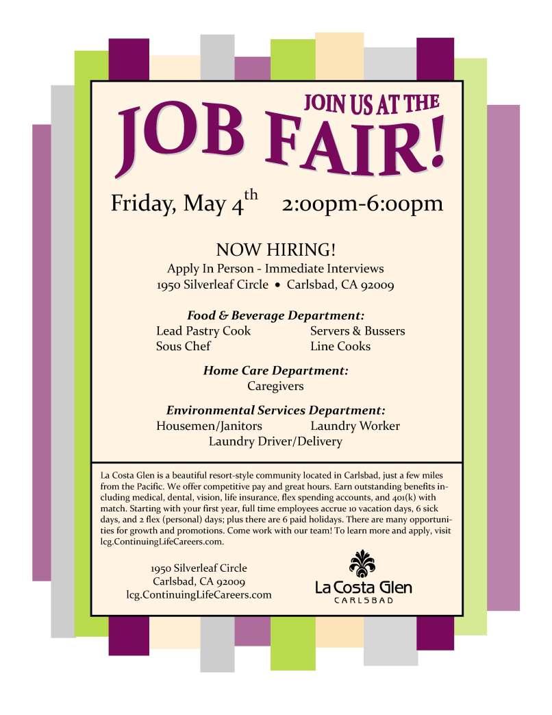 High school career fair invitation letter invitationjpg job fair flyers stopboris Images